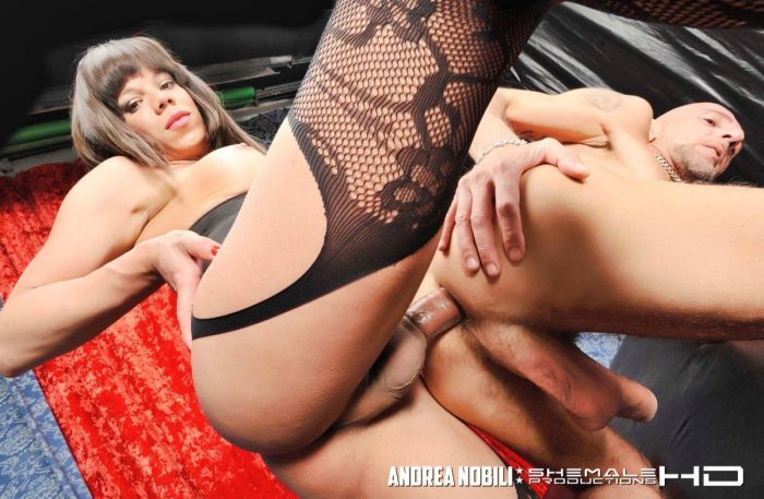 Anal Fucking with Shemale Walleska